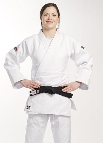 Judoga IPPON GEAR FIGHTER SLIM FIT biała